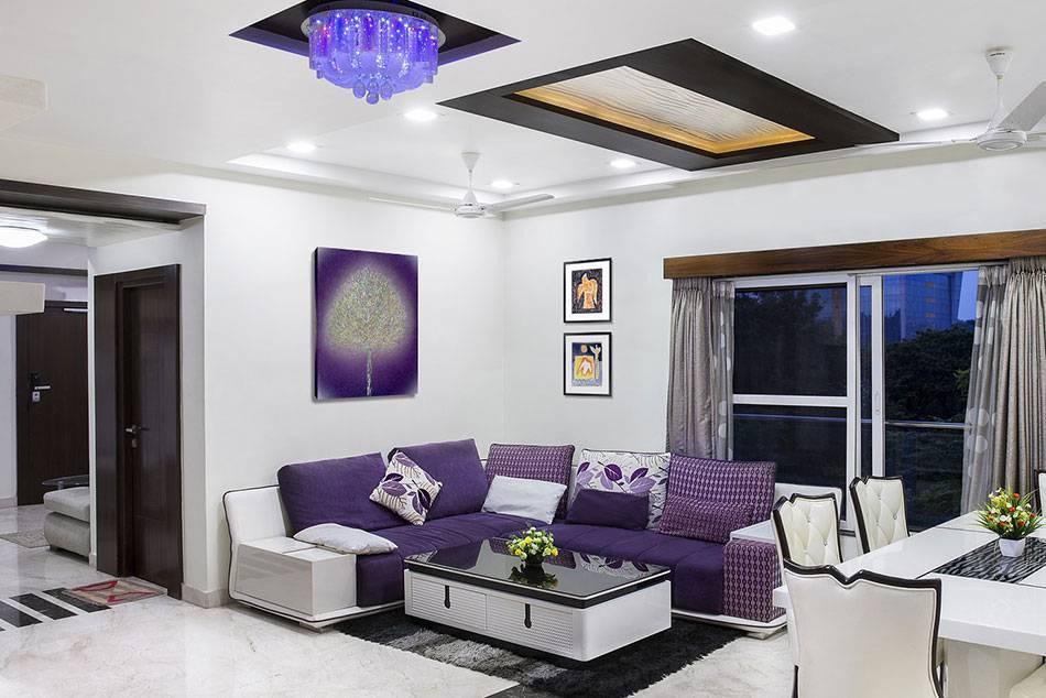 Серый диван в интерьере гостиной фото, интерьер с серым диваном, темно-серый диван, угловой