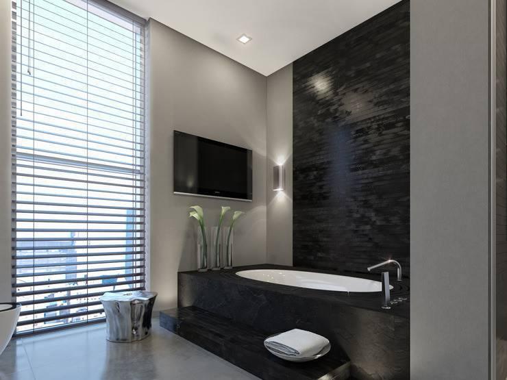 Ванная комната в стиле хай-тек — лучшие новинки современного дизайна (115 фото)