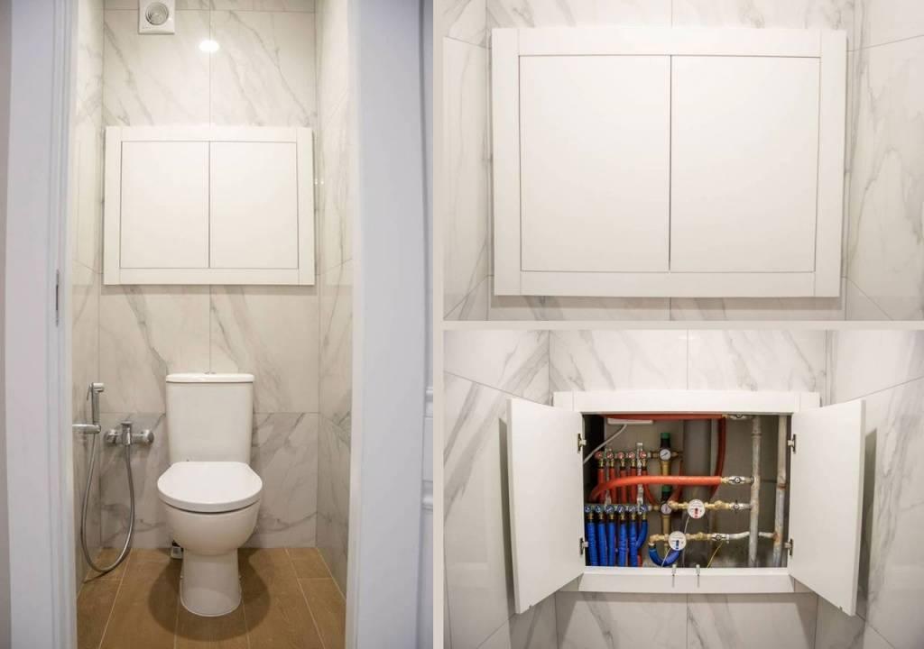 Как правильно спрятать трубы в ванной или туалете: варианты и нюансы