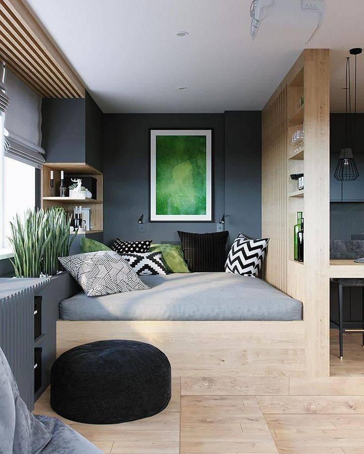 Интерьер маленькой квартиры - фото необычных вариантов дизайна квартиры