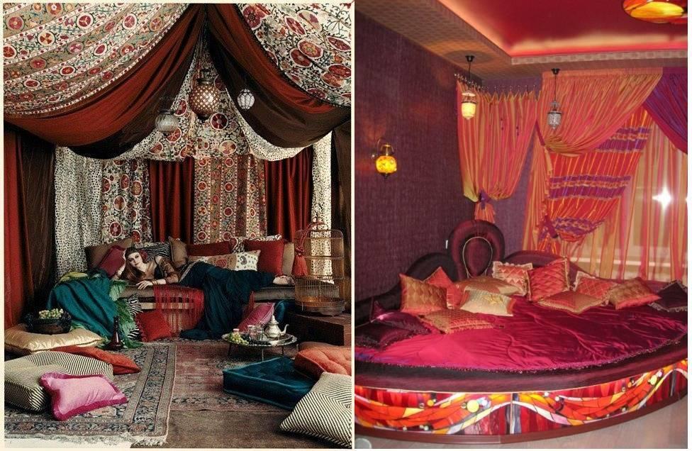 Спальня в арабском стиле: роскошь и нега востока в вашем доме