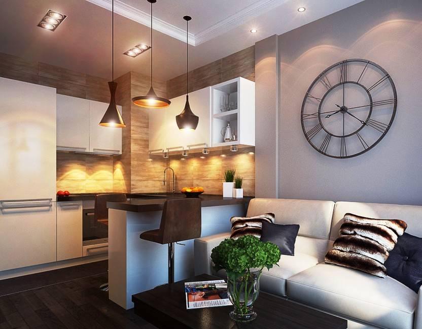 Свет в декоре гостиной - 107 фото примеров