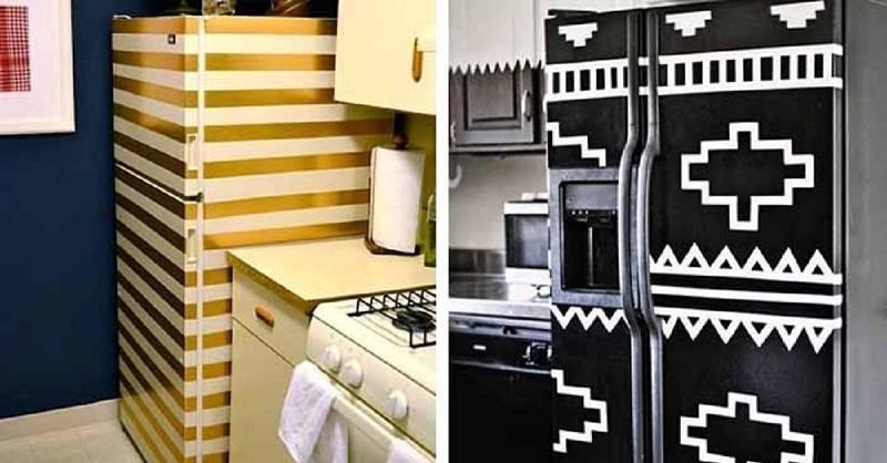 Декупаж холодильника своими руками фото мастеркласс другие идеи декора