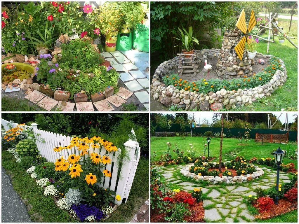Идеи украшения садового и приусадебного участка