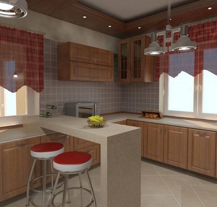 Планировка кухни в частном доме: 175+ (фото) вариантов дизайна