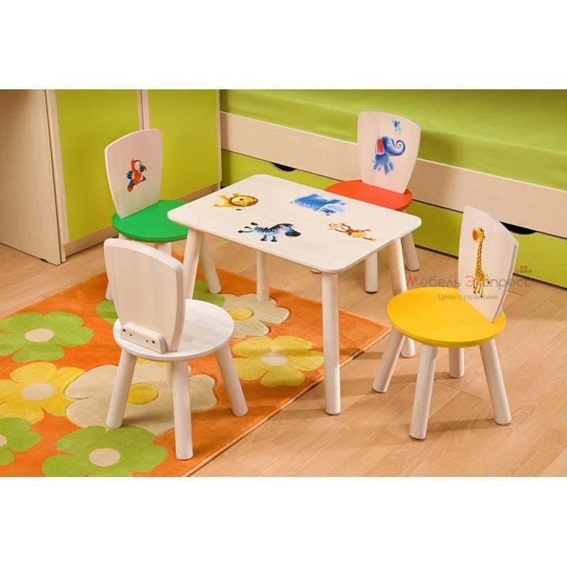 Дошкольный стол со стульчиком: все занятия ребенка в радость