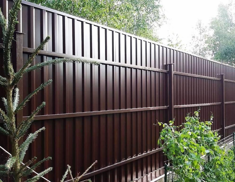 Декоративные заборы для дачи – зонирование и украшение участка