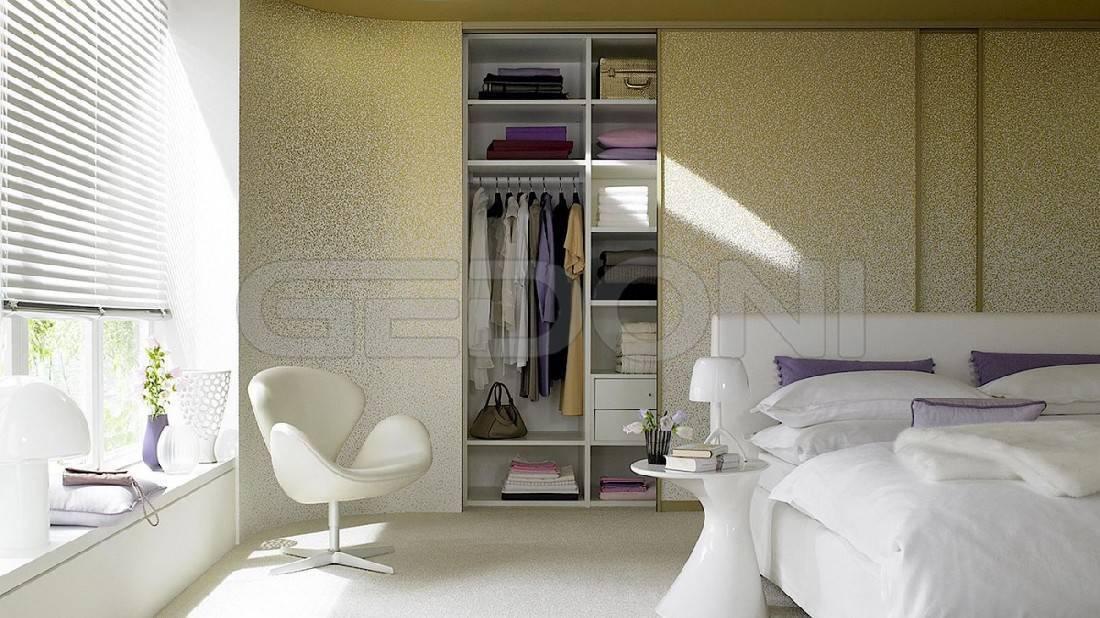 Современная стильная гардеробная в спальне: 3 основных вида