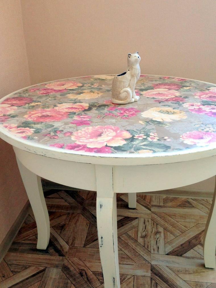 Декор стола: 110 фото современных сочетаний и материалов
