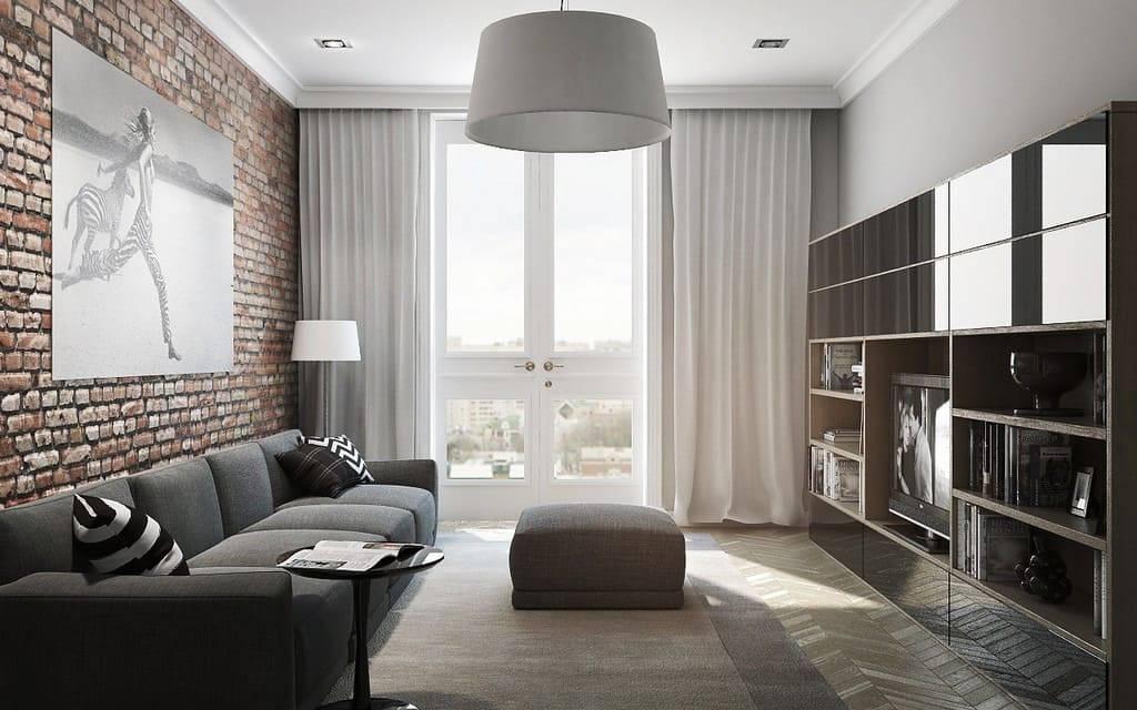 Дизайн зала 16 кв. м (90 фото): бюджетный вариант оформления интерьера гостиной комнаты 16 кв. метров в квартире в панельном доме