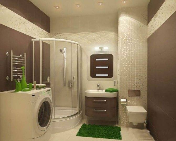 Бежевая ванная комната - 76 фото домашнего декора и дизайна