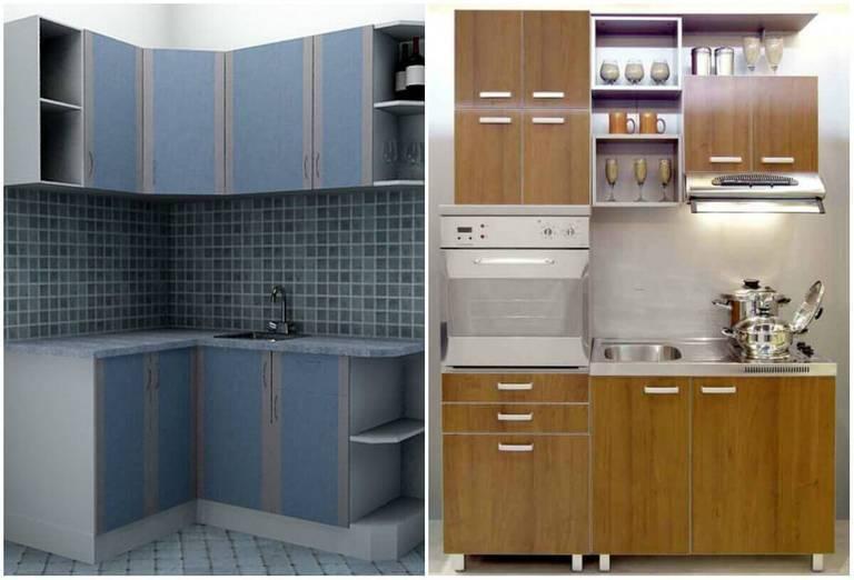 Фото кухонь эконом класса: советы по выбору красивой и недорогой кухни