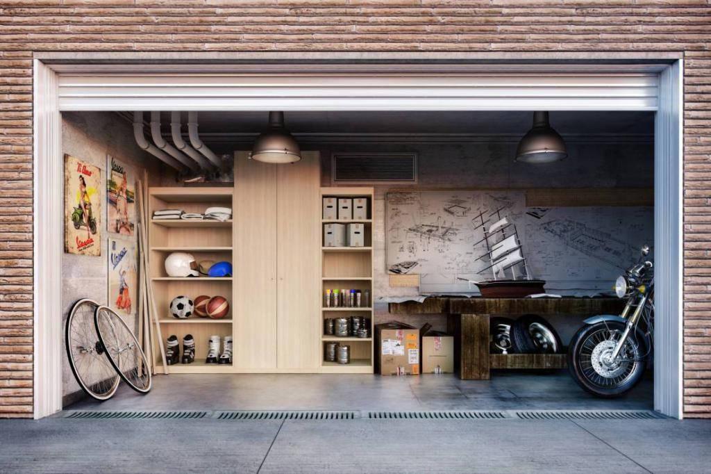 Дизайн гаража: +75 фото примеров интерьера