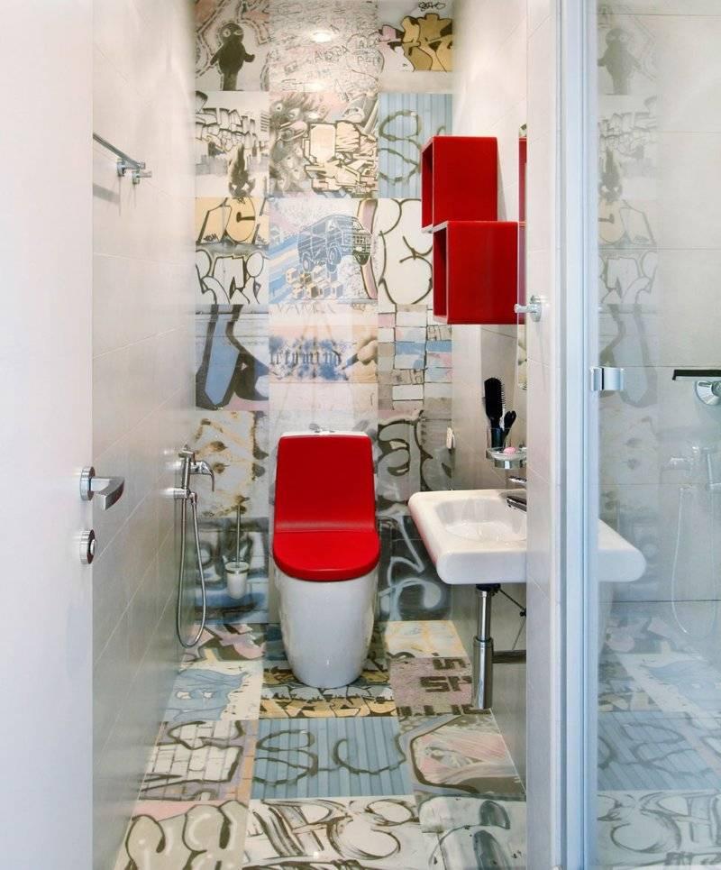 Дизайн туалета 2017 - 50 фото с лучшими современными идеями