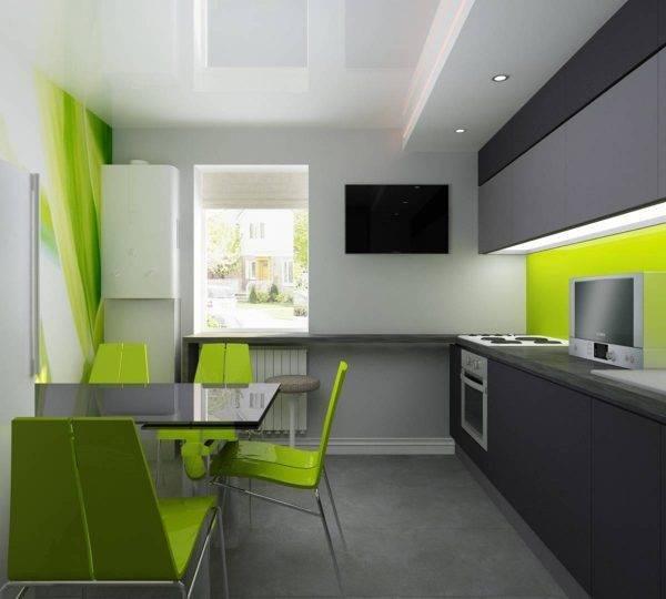 Дизайн черно-белой кухни: 50 + реальных фото интерьеров
