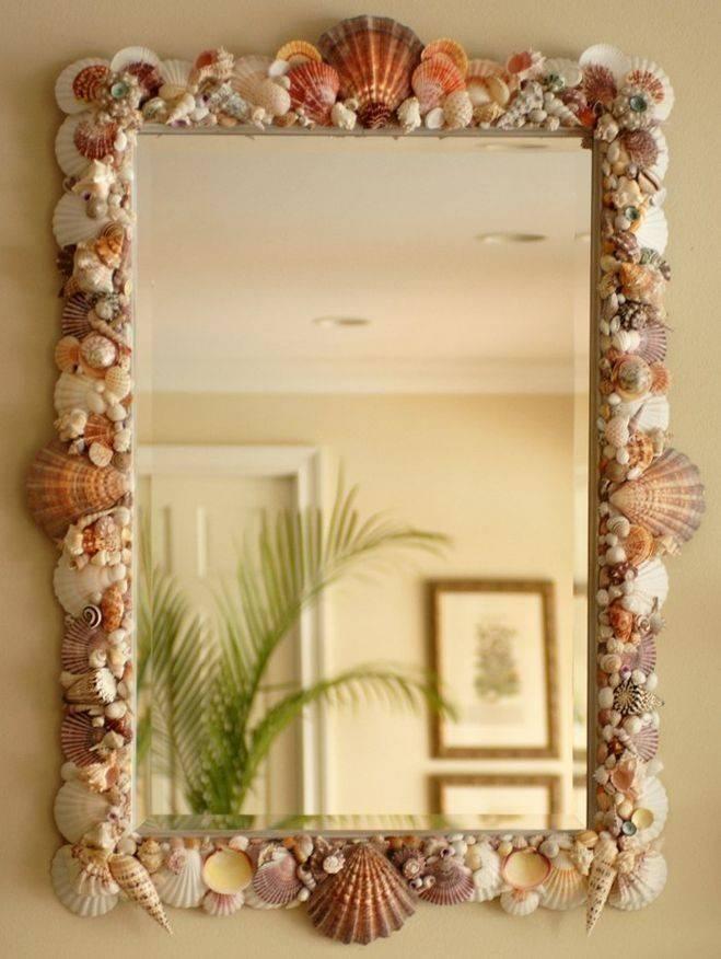 Декор зеркала — лучшие решения и красивые варианты оформления зеркал. 110 фото и видео описание для начинающих