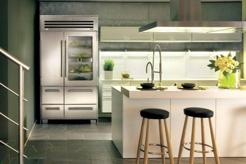 Кухня 6 кв. м с холодильником: 100+ фото [лучшие идеи 2019]