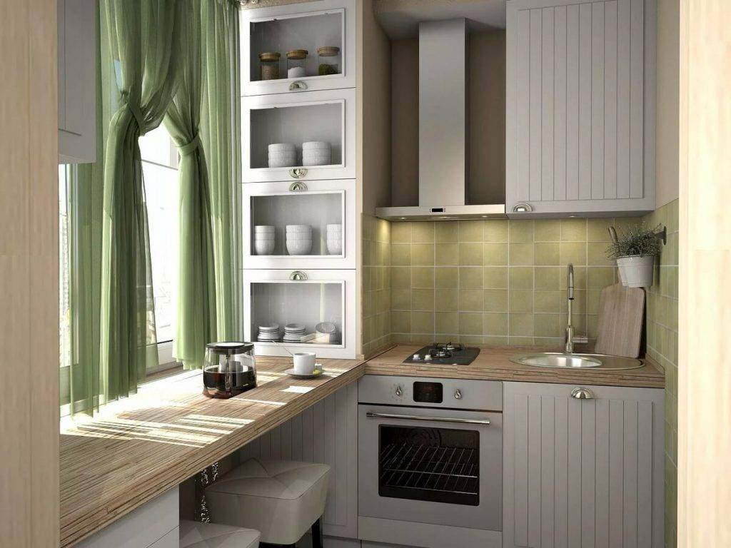 30 удачных примеров решения проблем в интерьере маленькой кухни