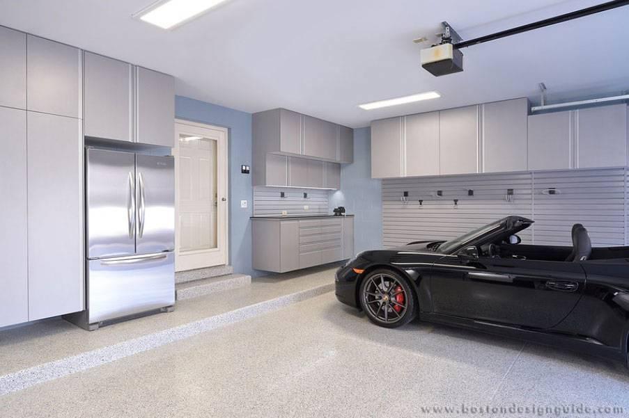 Дизайн настоящего мужского гаража советы, моделирование — 75 фото