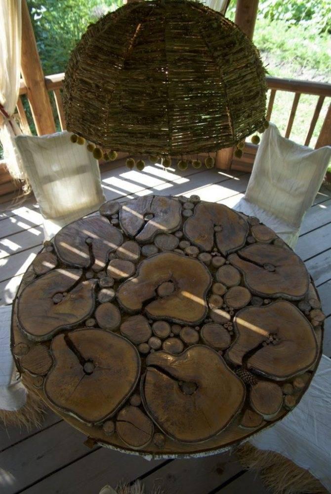 Поделки из спилов дерева для дачи, дома, сада - 76 фото идей и дельных советов по изготовлению деревянных украшений