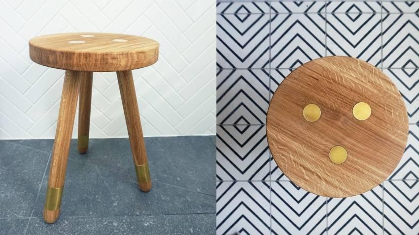 Табуретка из дерева своими руками (39 фото): как сделать маленький деревянный табурет по чертежам с размерами? ход работы