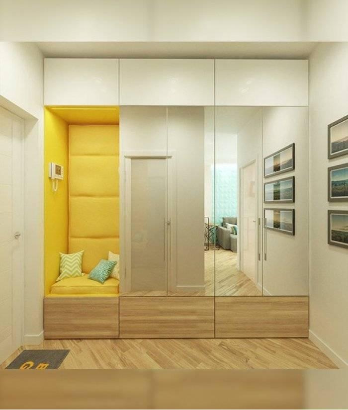 Встроенный шкаф в прихожую: 105 фото модных идей интерьера и варианты оформления шкафа