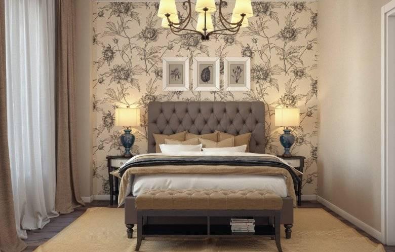 Комбинированные обои в спальню дизайн 2021 (111 фото): идеи в интерьере комнаты с обоями двух видов, правила сочетания цветов и текстур