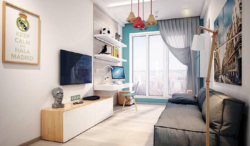 Дизайн детской комнаты для мальчика — 50 фото идей интерьера