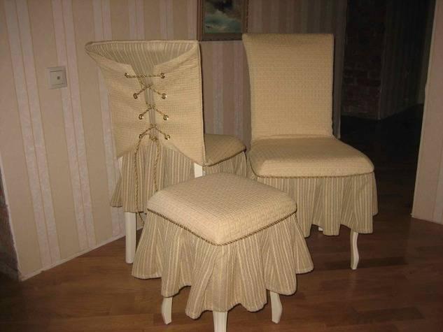 Чехол на стул своими руками (52 фото):  как сделать выкройку из ткани и сшить на стульчик для кормления со спинкой