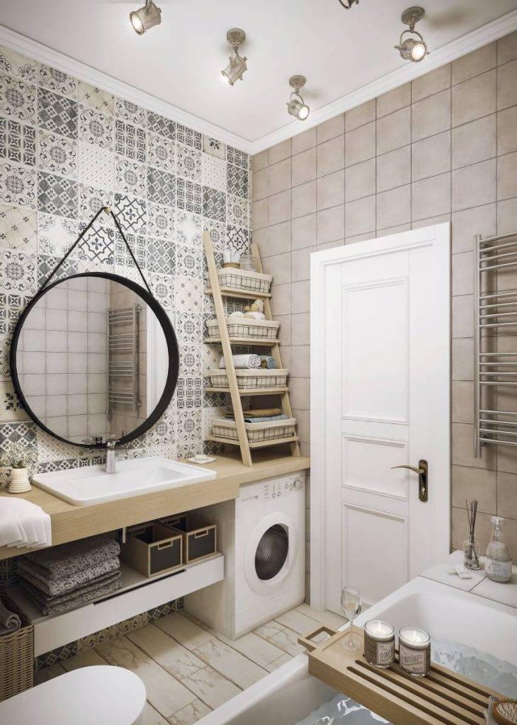 Ванная в скандинавском стиле (69 фото): оформление дизайна комнаты, интерьер маленькой ванной с душем площадью 4 или 3 кв. м