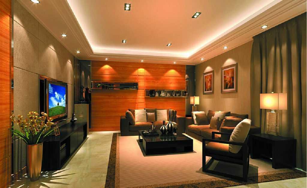 Свет в интерьере: принципы организации освещения жилых комнат