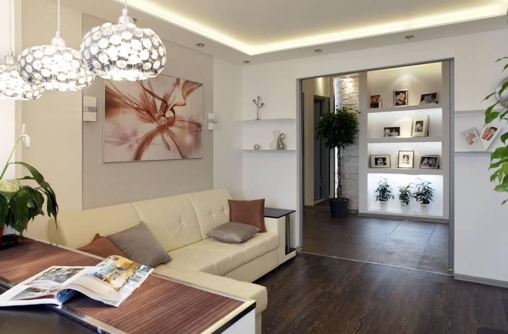 Дизайн трехкомнатной квартиры п44т. проект трешки п44т - фото.