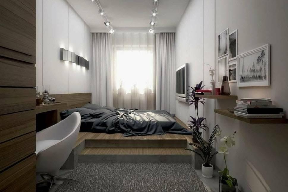 Оформление интерьера спальни 8 кв м с фото