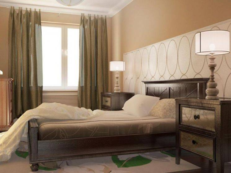 Спальня 14 и 13 кв. м фото современных дизайнов, планировка, отделка и мебель