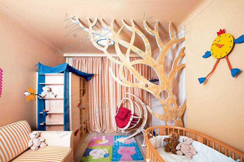 Интерьер детской комнаты своими руками. дизайн интерьера детской