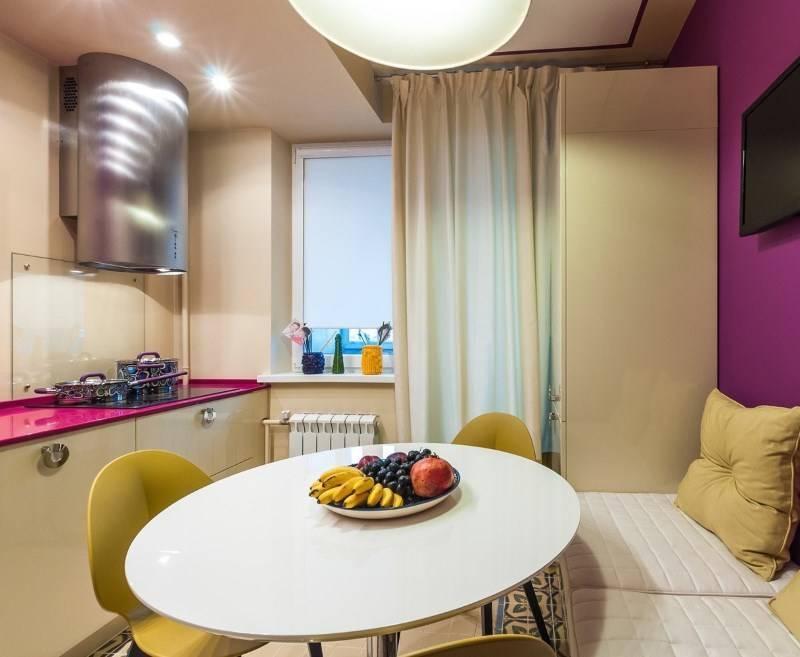 Кухня 13 кв. метров – 5 планировок и 7 реальных примеров
