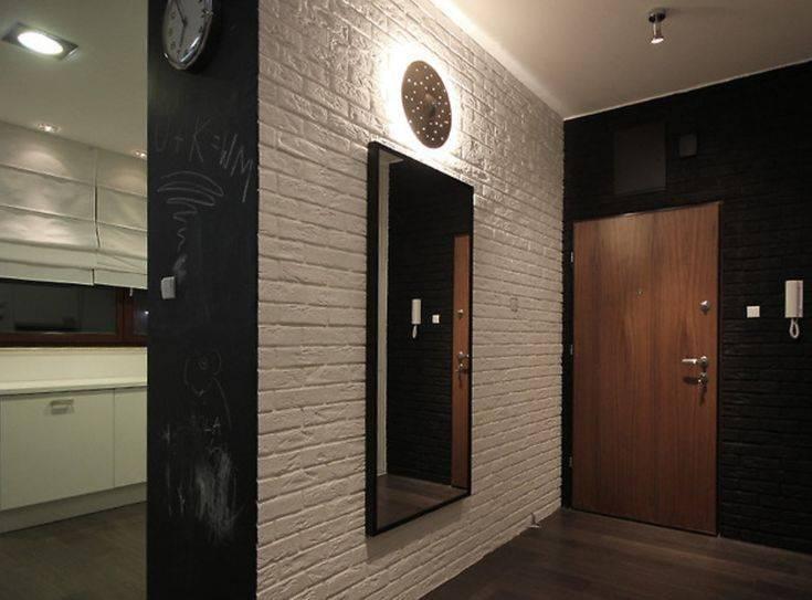 Отделка стен в прихожей: 50+ идей, выбор материалов, стиля и цвета