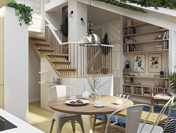 Дизайн двухуровневой квартиры +50 фото идей