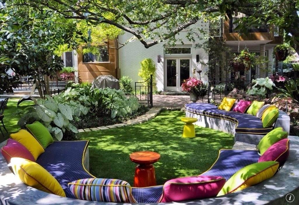 Как оформить задний двор: обустройство и красивый дизайн заднего двора (140 фото)
