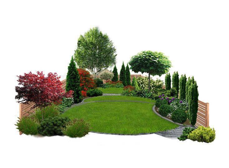Основные принципы ландшафтного дизайна участка