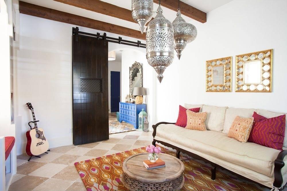 Марокканский стиль интерьера - 100 фото как в сказке