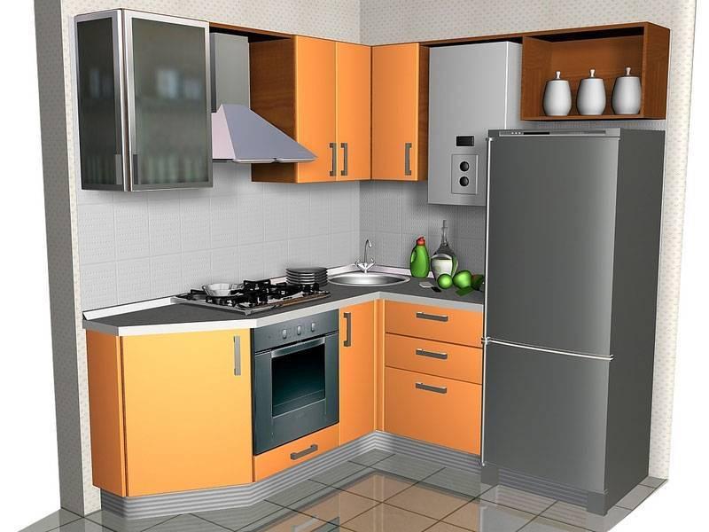 Особенности дизайна кухни с газовой колонкой