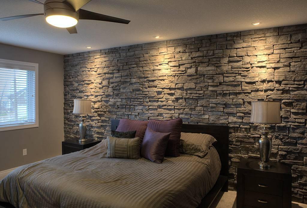 «каменный гость»: отделка интерьера камнем