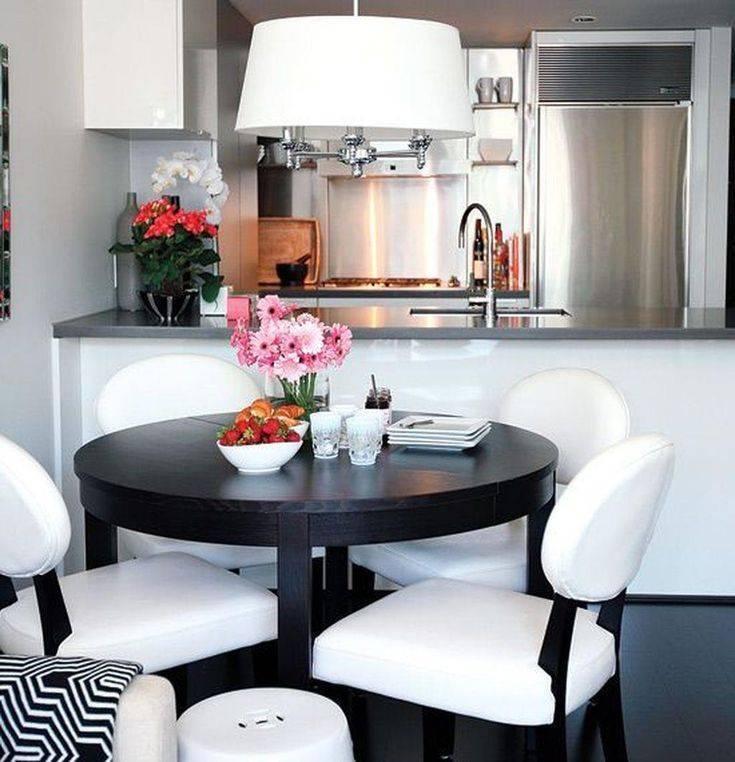 Обеденная зона на кухне: 50 фото примеров дизайна