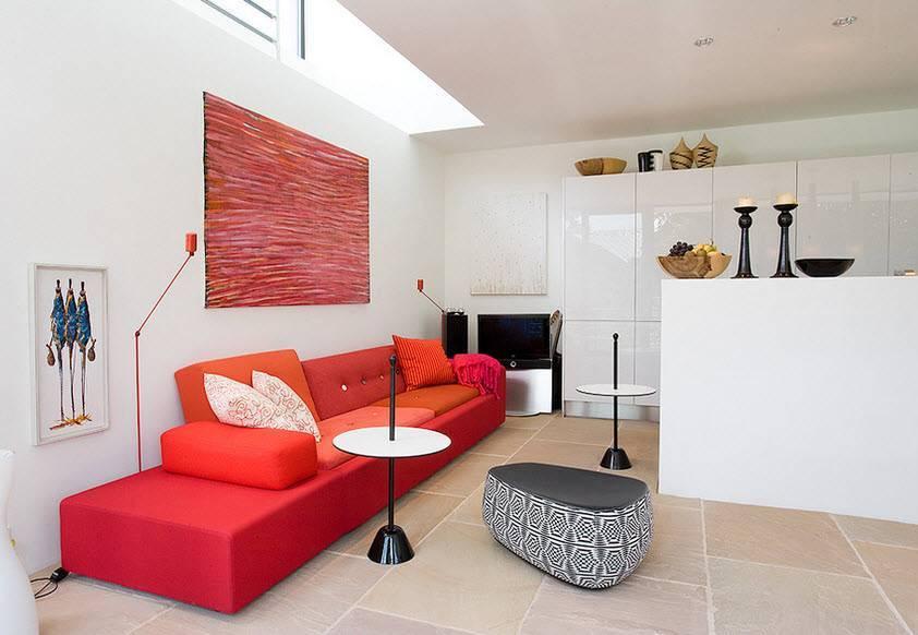 Красная мебель в интерьере — лучший обзор современных идей. инструкция как сочетать яркую мебель!