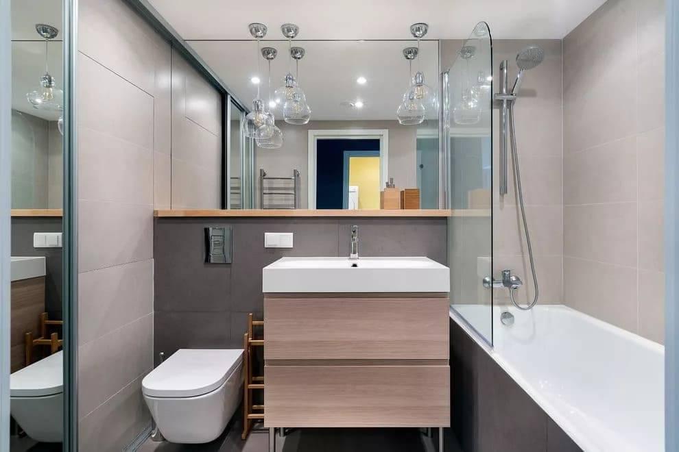 Дизайн ванной 3 кв.м. - 75 фото интерьеров после ремонта, красивые идеи