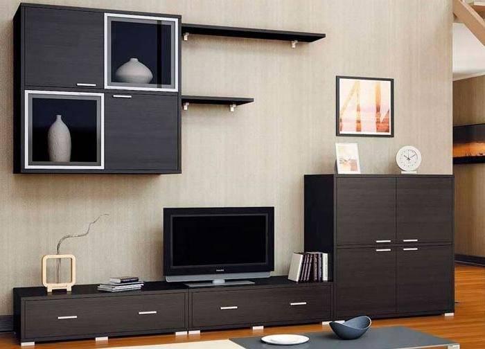 Гостиная со шкафом - фото идеальных вариантов сочетания в интерьере