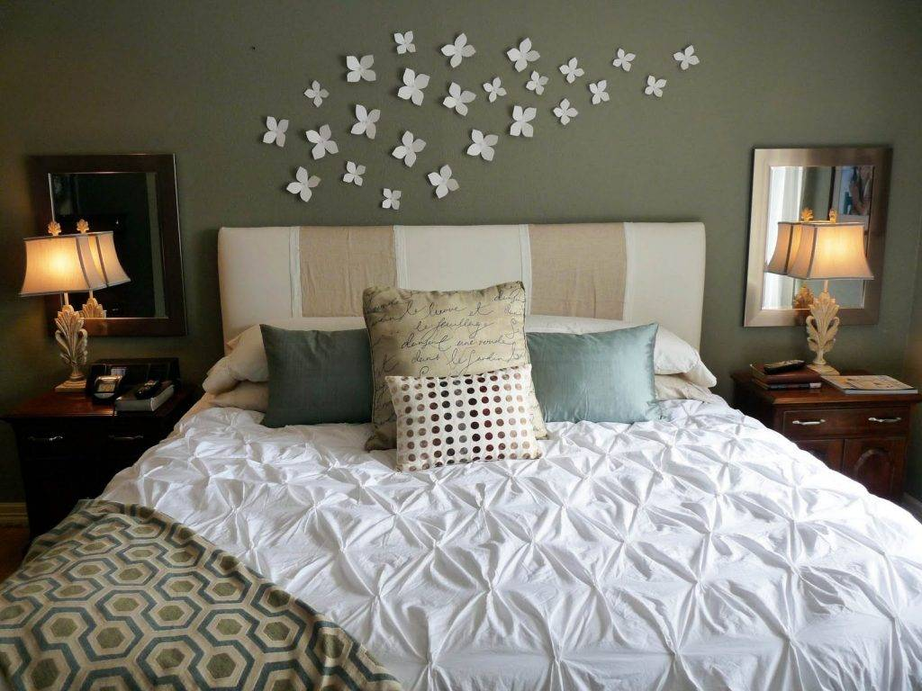 Дизайн стен в спальне - 100 фото идей по выбору цвета и материала для отделки стен в спальне