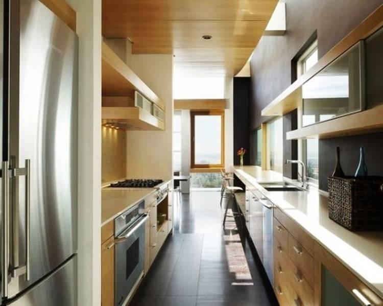 Варианты планировки узкой кухни: как правильно использовать пространство