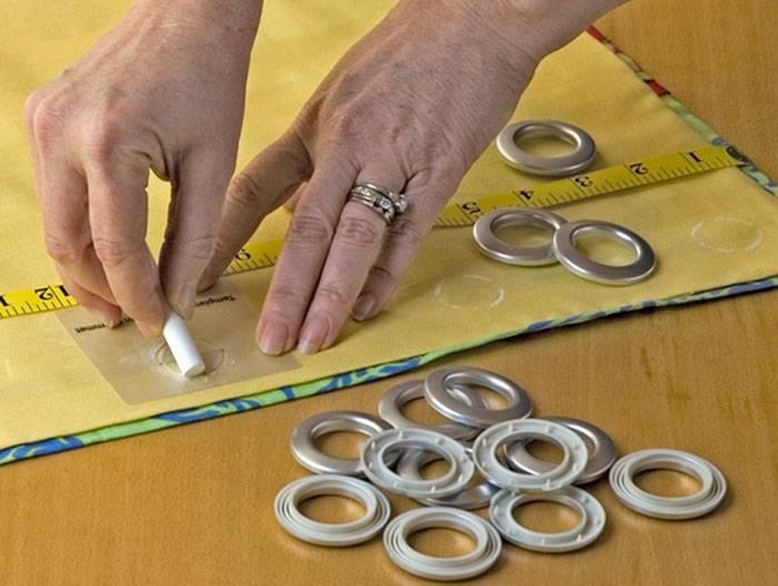 Как установить люверсы самому: на ткани своими руками в домашних условиях, пошаговая инструкция